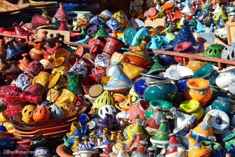 21-Moroccan-pottery ▷ Comenta 23 hermosas razones para visitar Marruecos por nassim ga