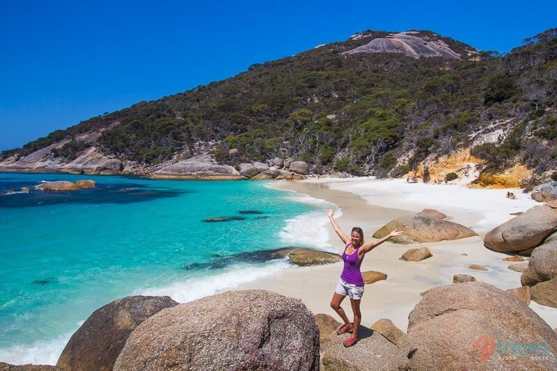Waterfall Beach near Albany, Western Australia