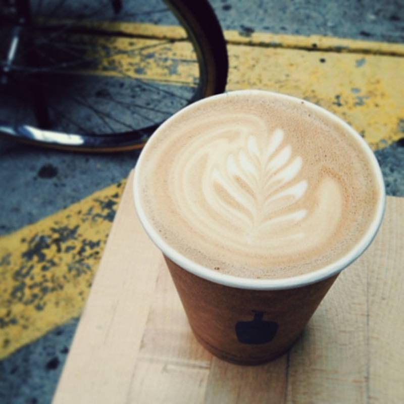 Blue Bottle Cafe - one of the best coffee shops in NYC that the locals love!