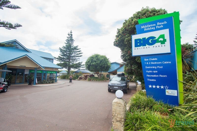 Big 4 Holiday Park, Albany, Western Australia