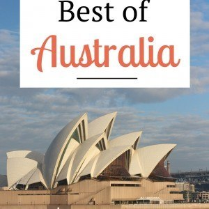 Thinking of traveling to Australia? Click inside to learn about the best beaches, islands, cities, National Parks, food & wine regions, and much more!