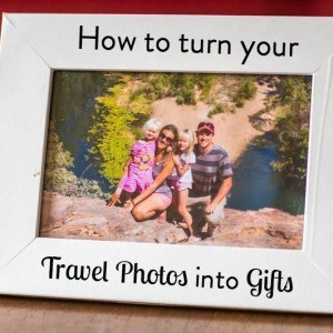 How to turn your travel photos into gifts