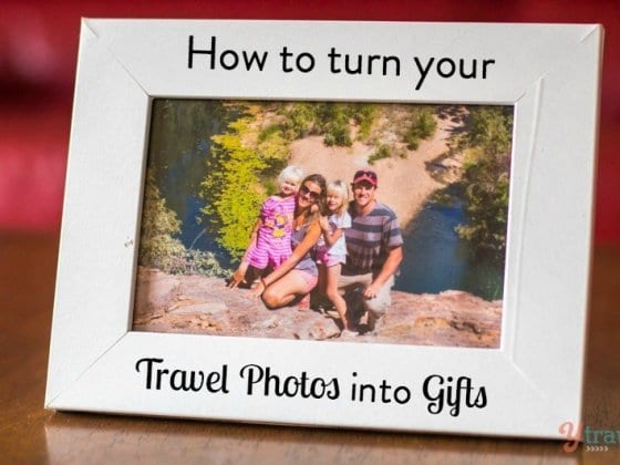 8 Ideas for Turning Your Travel Photos Into Gifts