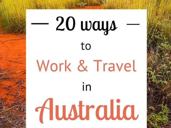 20 Ways to Work and Travel in Australia
