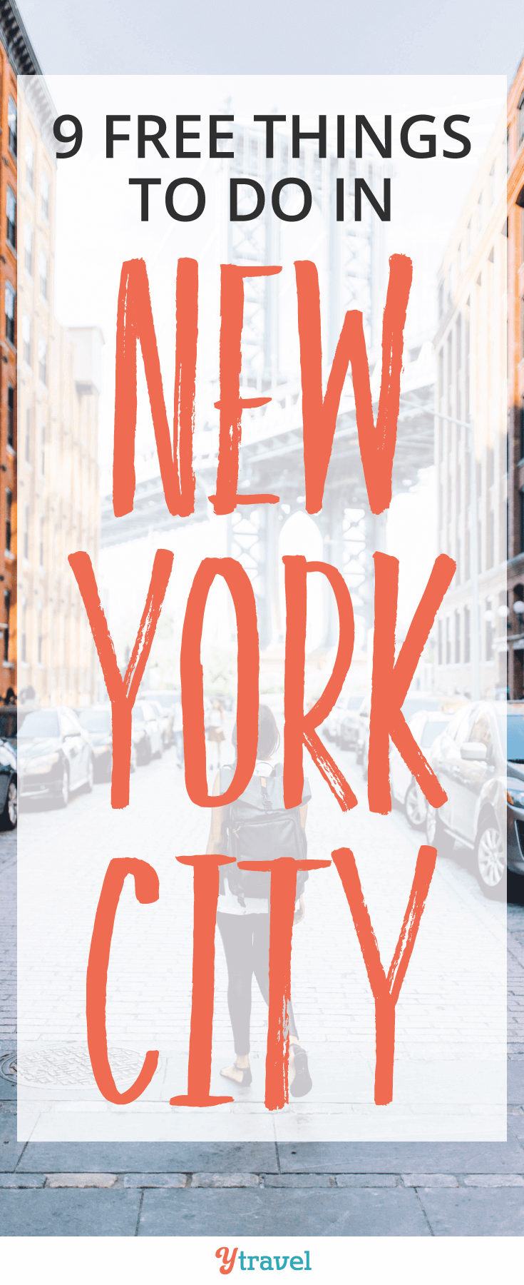 Need tips on FREE things to do in NYC? Christine shares her top 9 things to do in new York that won't cost you a cent, one of them $1. What a great way to visit NYC!!