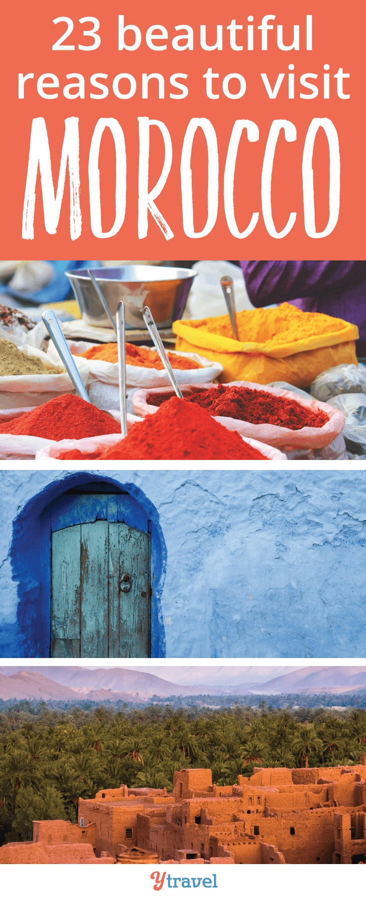 Thinking about a trip to Morocco soon? Check out these 23 beautiful reasons to visit Morocco.