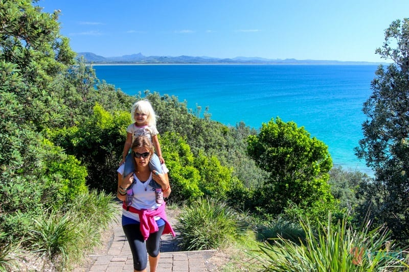 Byron Bay Lighthouse walk - one of the best short walks in Australia