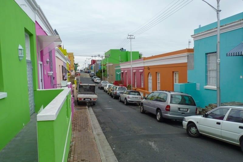 Cape Town's colourful Bo-Kaap neighbourhood