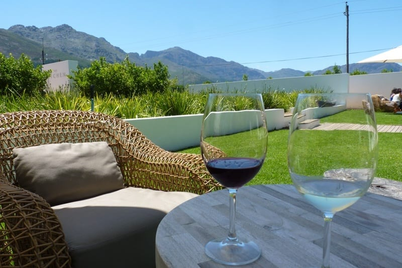 The food and wine in Franschhoek is among the best in the world