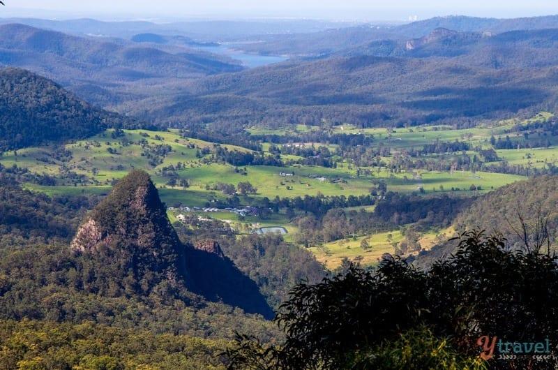 Explorer les montagnes de Binna Burra dans le parc national de Lamington, dans l'arrière-pays de la Gold Coast, en Australie
