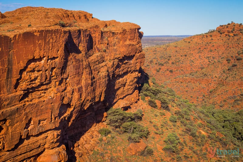 Kings Canyon RIm walk in the Northern Territory of Australia