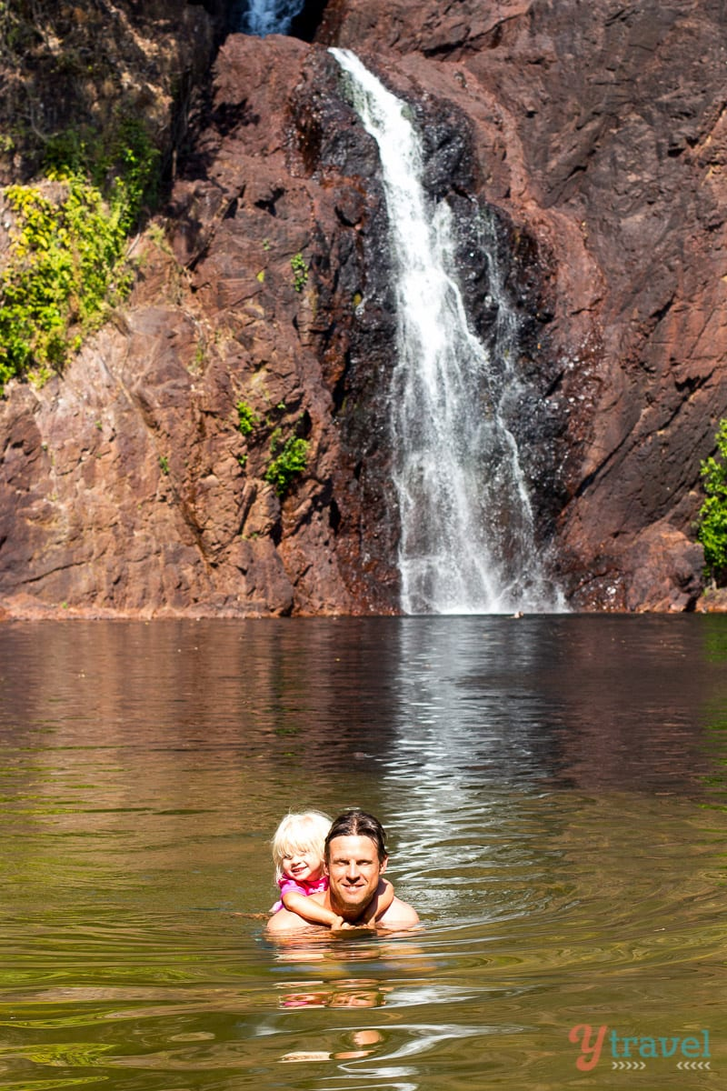 Wangi Falls at Litchfield National Park in the Northern Territory of Australia