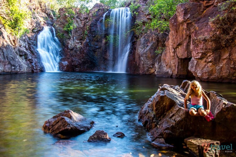 Florence Falls at Litchfield National Park in the Northern Territory of Australia