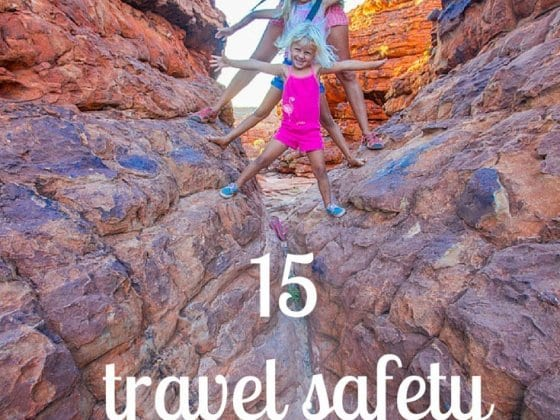 Travel safety tips with kids