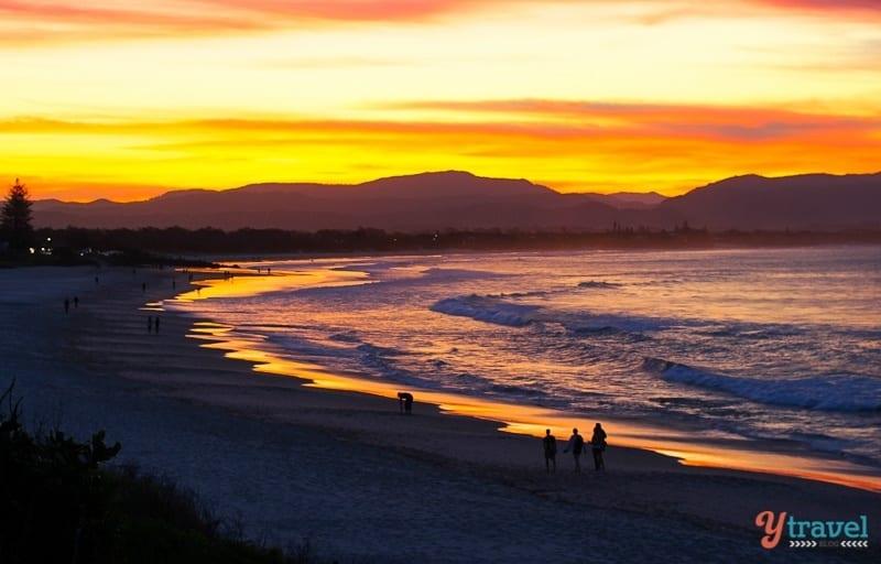 Sunset at Byron Bay, NSW, Australia