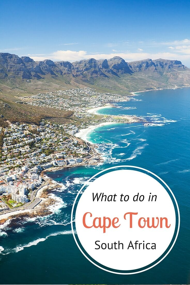 7 ways to explore cape town south africa for Cape town south africa travel