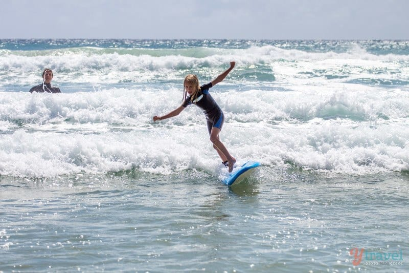 learn to surf for kids on the gold coast