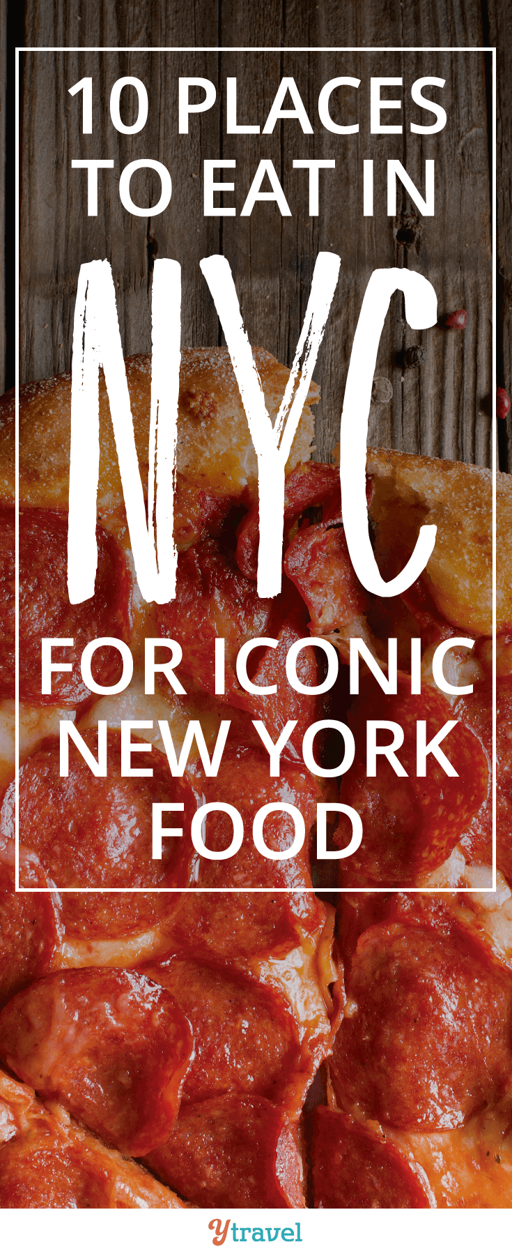 10 places to eat in NYC for iconic New York food. From pizza to bagels to rueben sandwiches we'll make sure you're stomach is satisfied!