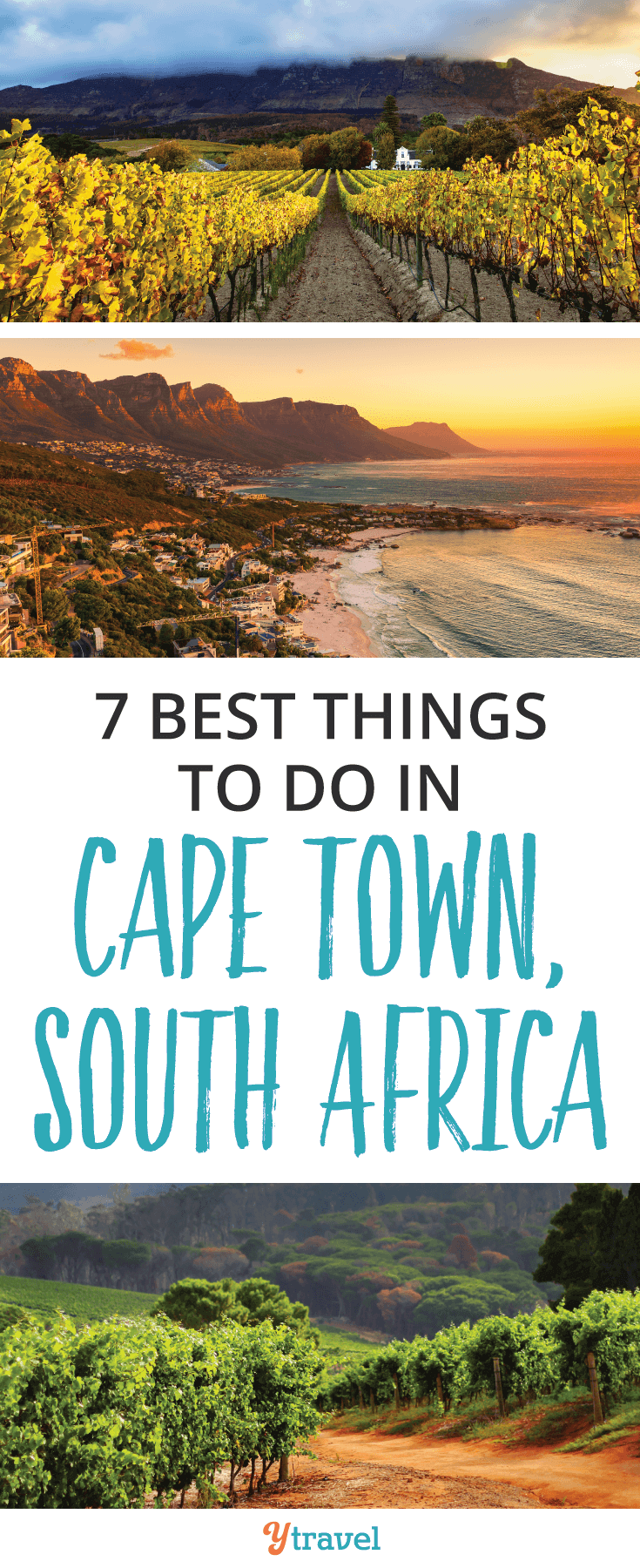 The 7 best things to do in Cape Town, South Africa. Enjoy South African wine, fine dining, hiking, visiting penguins and much more!