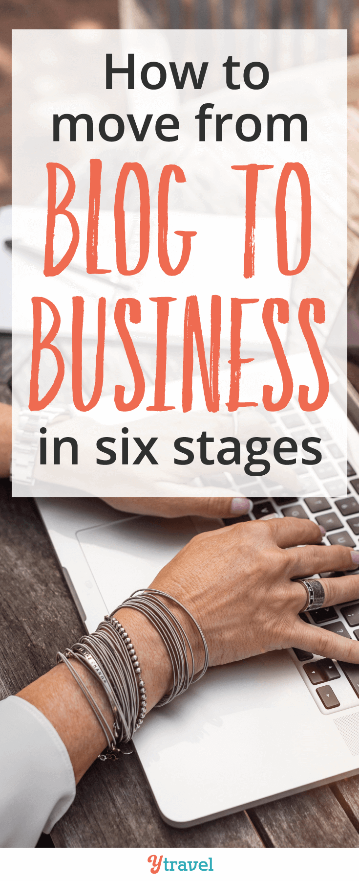Do you want to move from blog to business. Discover the 6 components that helped us take our blog to business!