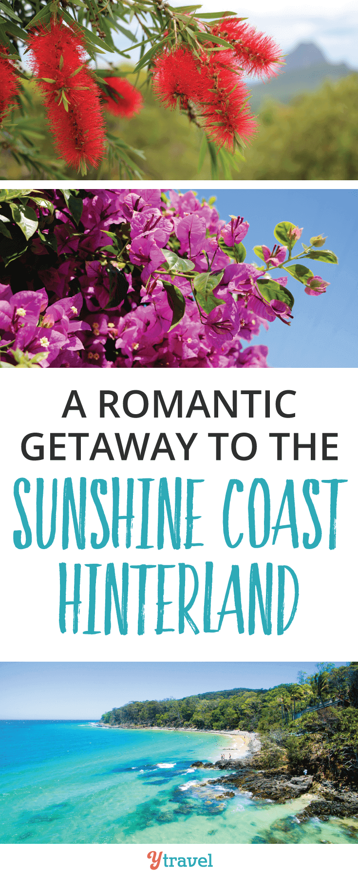 If you're looking for the perfect romantic getaway look no further than the Sunshine Coast Hinterland. Connect with nature, treat yourself to a massage, a lovely lunch and beautiful mountain views!