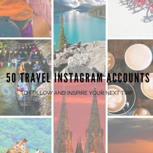 50 travel instagram accounts