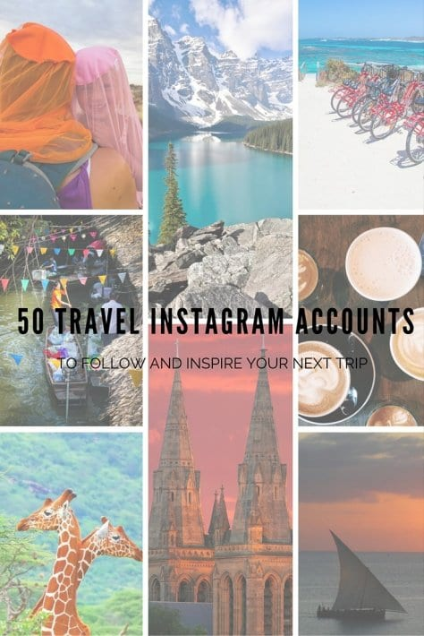 50 travel instagram accounts