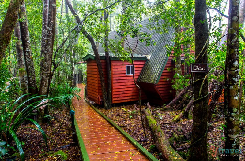 Mouses House Rainforest Retreat in Springbrook National Park, Gold Coast Hinterland, Queensland, Australia