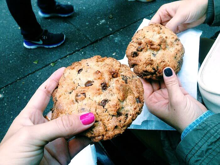 Cookies at Levain Bakery - One of the iconic places to Eat in NYC