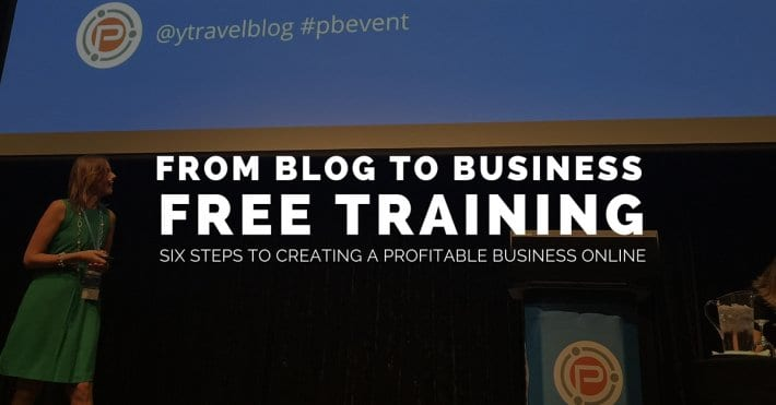 moving from blog to business