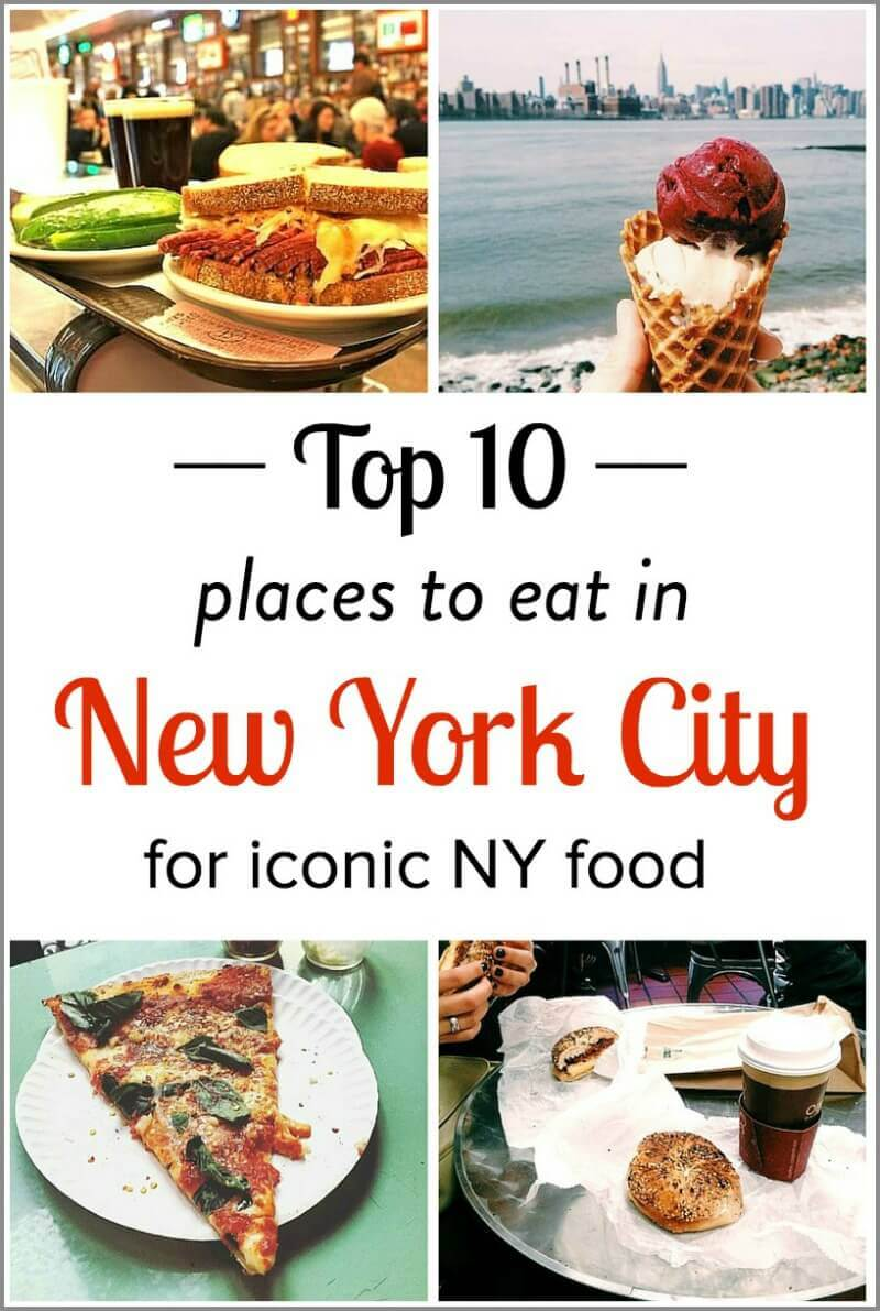 10 Iconic Places to Eat in NYC