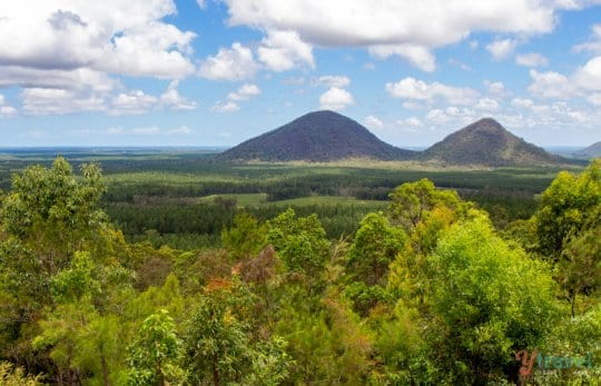 Glass House Mountains - Sunshine Coast Hinterland, Queensland, Australia