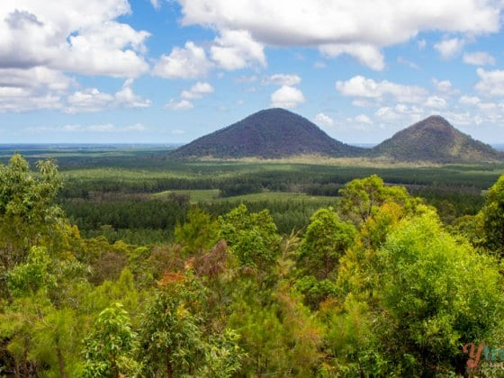 Glass House Mountains - Sunshine Coast Hinterland, Queensland, Australia