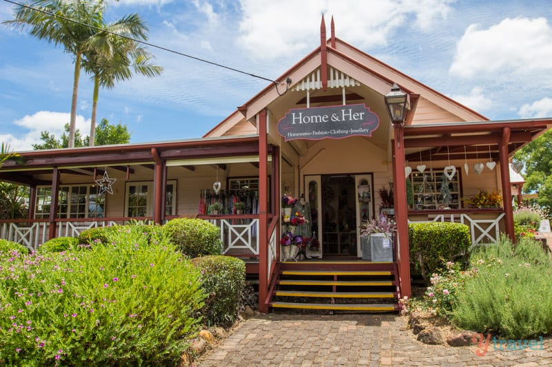 Shop in Montville - Sunshine Coast Hinterland, Queensland, Australia