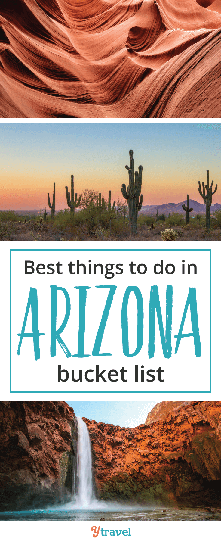 We've rounded up some of the best things to do in Arizona to add to our bucket list. Do you have any Arizona travel tips and destination information to share?