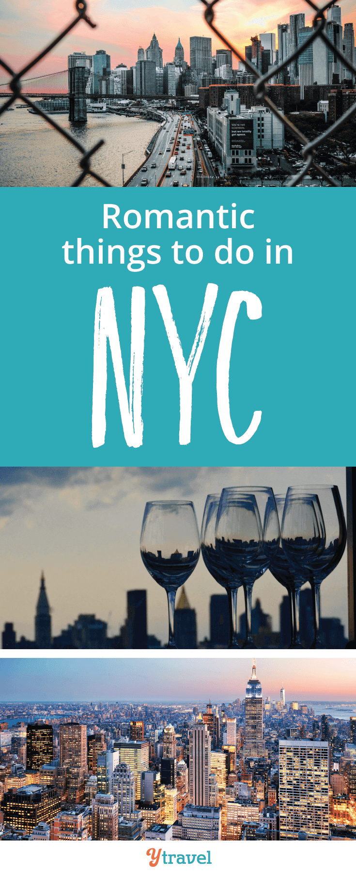 Are you searching for romantic things to do in NYC? If so you've picked a brilliant destination with endless places to eat, places to drink and things to see!