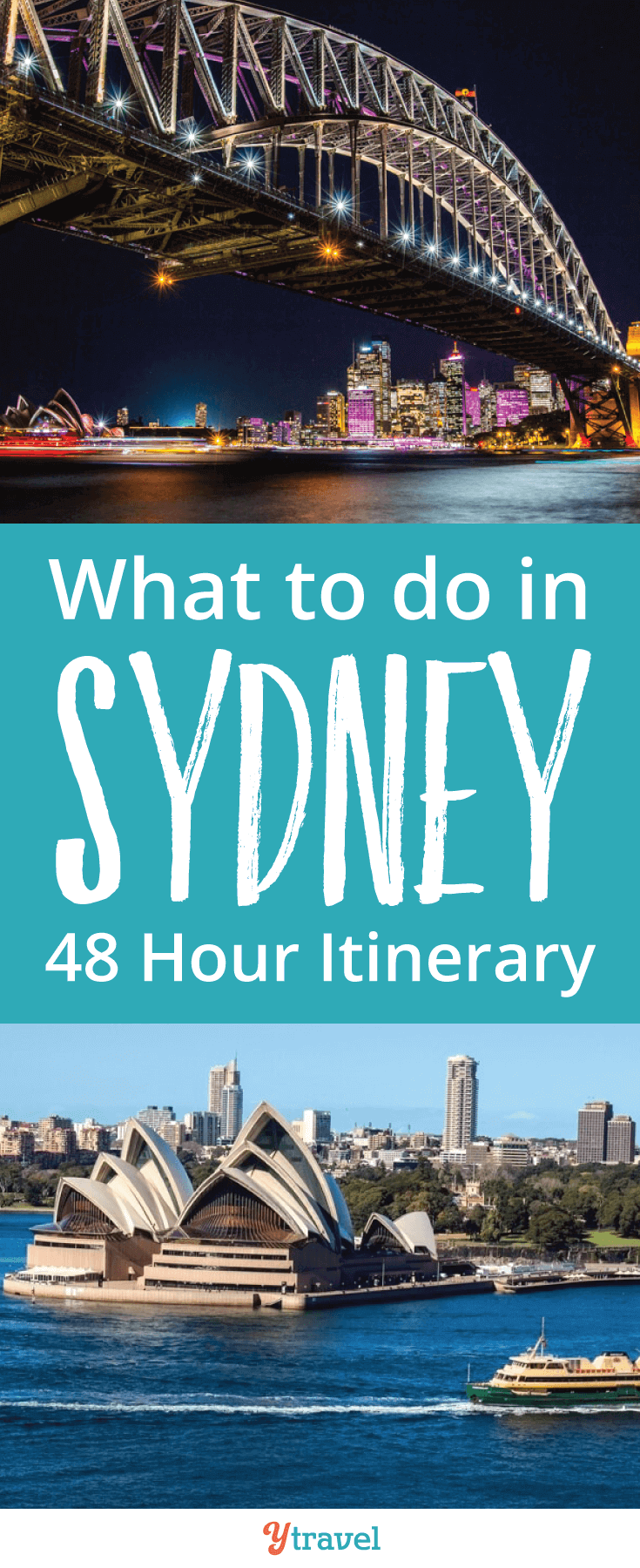 Are you on the hunt for what to do in Sydney if you've only got 48 hours? We've rounded up a great list of things to do in Sydney to make the most of your short trip!