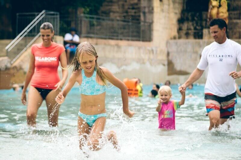 Adventure Cove Waterpark - one of the best things to do in Singapore with kids!