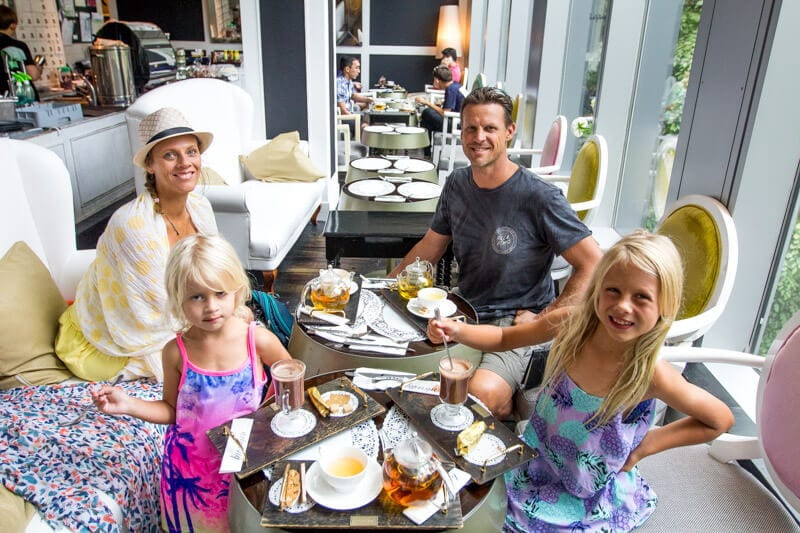 Arteastiq boutique Tea House in Singapore - one of the best things to do in Singapore with kids
