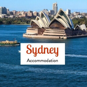 25 Best Accommodation in Sydney CBD from budget to mid-level-to luxury properties!