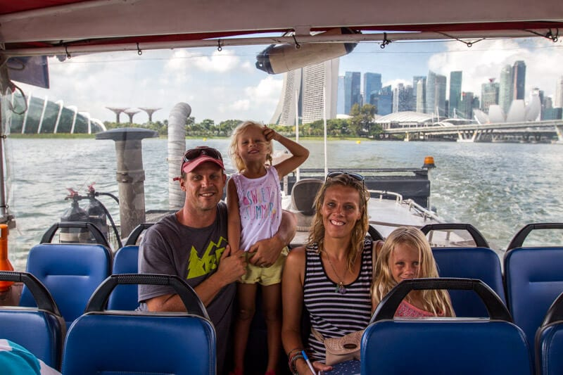 Ducktour - one of the best things to do in Singapore with kids