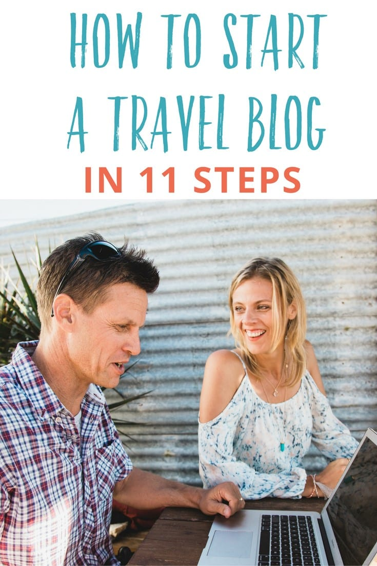 how to start a travel blog and make money travel blogging