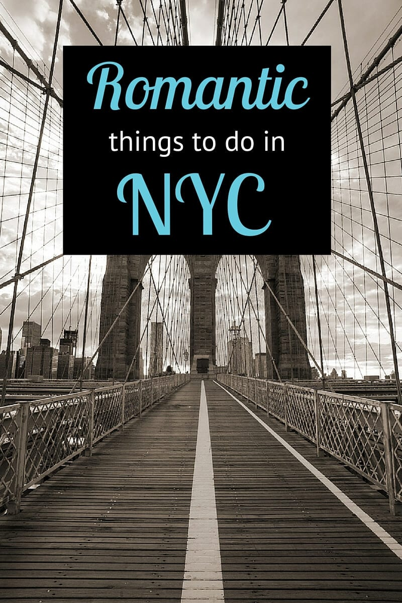 6 romantic things to do in nyc for Nyc stuff to do