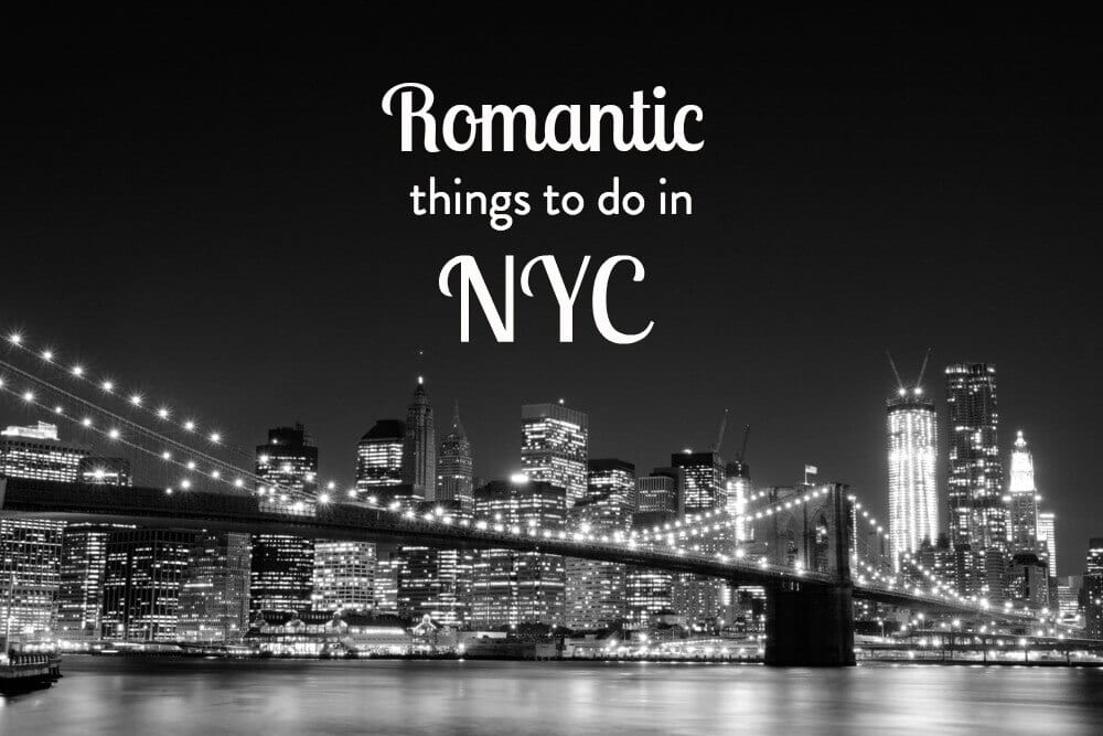 6 romantic things to do in nyc