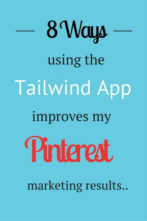 Want to know how to schedule pins? The best time to pin? Here's 8 reasons why I use the Tailwind App to super charge my Pinterest marketing efforts. I couldn't live with out this tool.