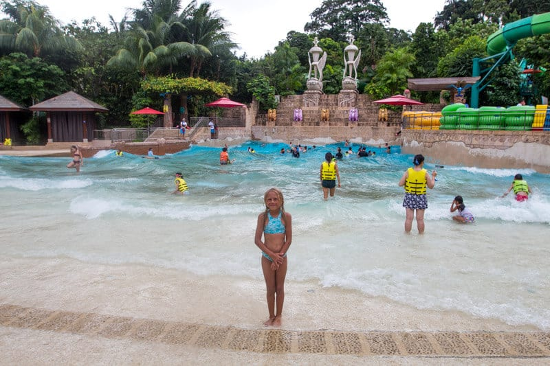 Adventure Cove Waterpark - S.E.A aquarium in Singapore - one of the best things to do in Singapore with kids!
