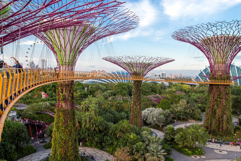 Gardens by the Bay - one of the best things to do in Singapore with kids!