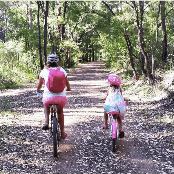Bike riding in Margaret River, Western Australia