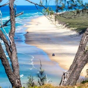 Drive 75 Mile Beach - things to do on Fraser Island