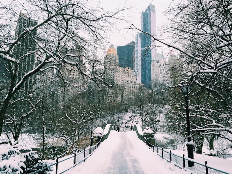 Walk across the Gapstow Bridge - things to do in Central Park, New York City